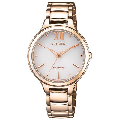 CITIZEN  星海點點光動能時尚錶(EM0553-85A)-32mm