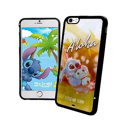 迪士尼正版 iPhone 6s/6 Plus 5.5吋 史迪奇布偶版 防滑手機殼...
