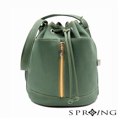 SPRING-水桶包-MIT-簡約風2WAY水桶包