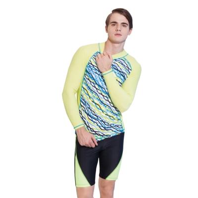 Aquanaut奧可那泳裝 繽紛彩線長袖衝浪衣
