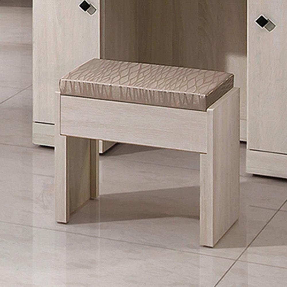 H&D 瑪奇朵化妝椅45.8x30x43CM
