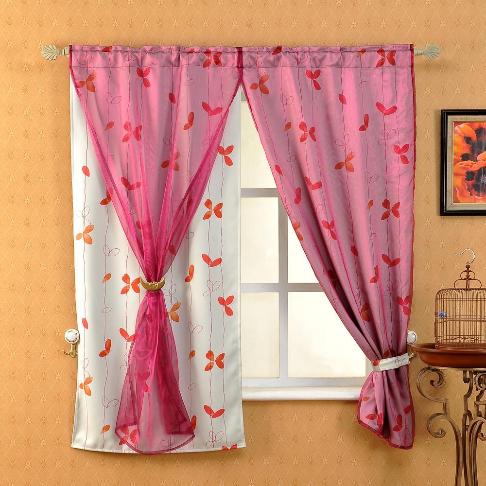 芸佳 小蝶和風遮光窗簾140*160