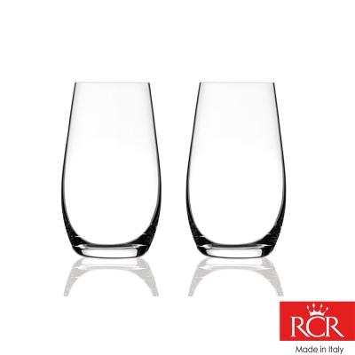 義大利RCR茵芙曼無鉛水晶 果汁杯 (2入)480cc