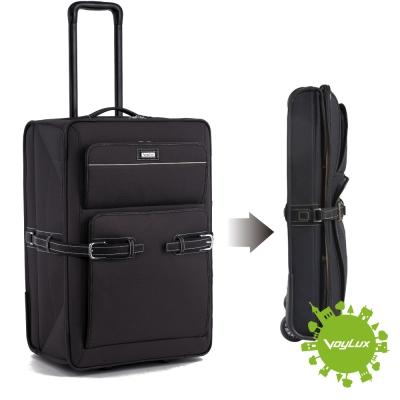 【VoyLux伯勒仕】復古都會系列-26吋 折疊專利旅行箱-黑2688204