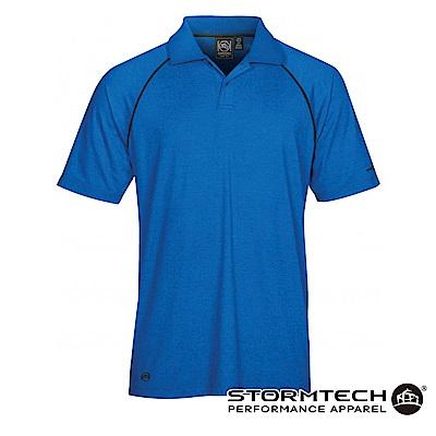 【加拿大STORMTECH】IPS-4 吸濕排汗抗UV POLO衫-男 (淺藍)