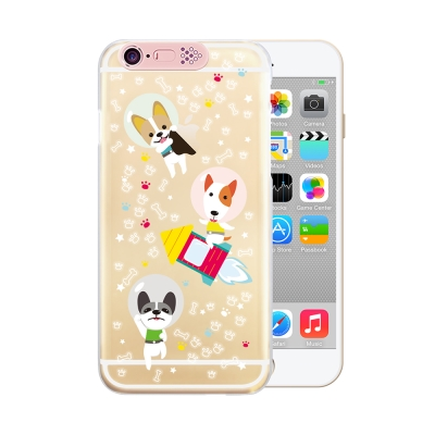 OPENBOX iPhone 6/6S 4.7吋爆閃手機殼 動物款-原力狗