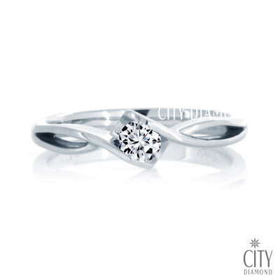 City Diamond『櫻花之境』<b>12</b>分鑽戒