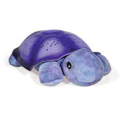 美國Cloud b-寶貝舒眠星光夜燈-紫色烏龜7323-PR