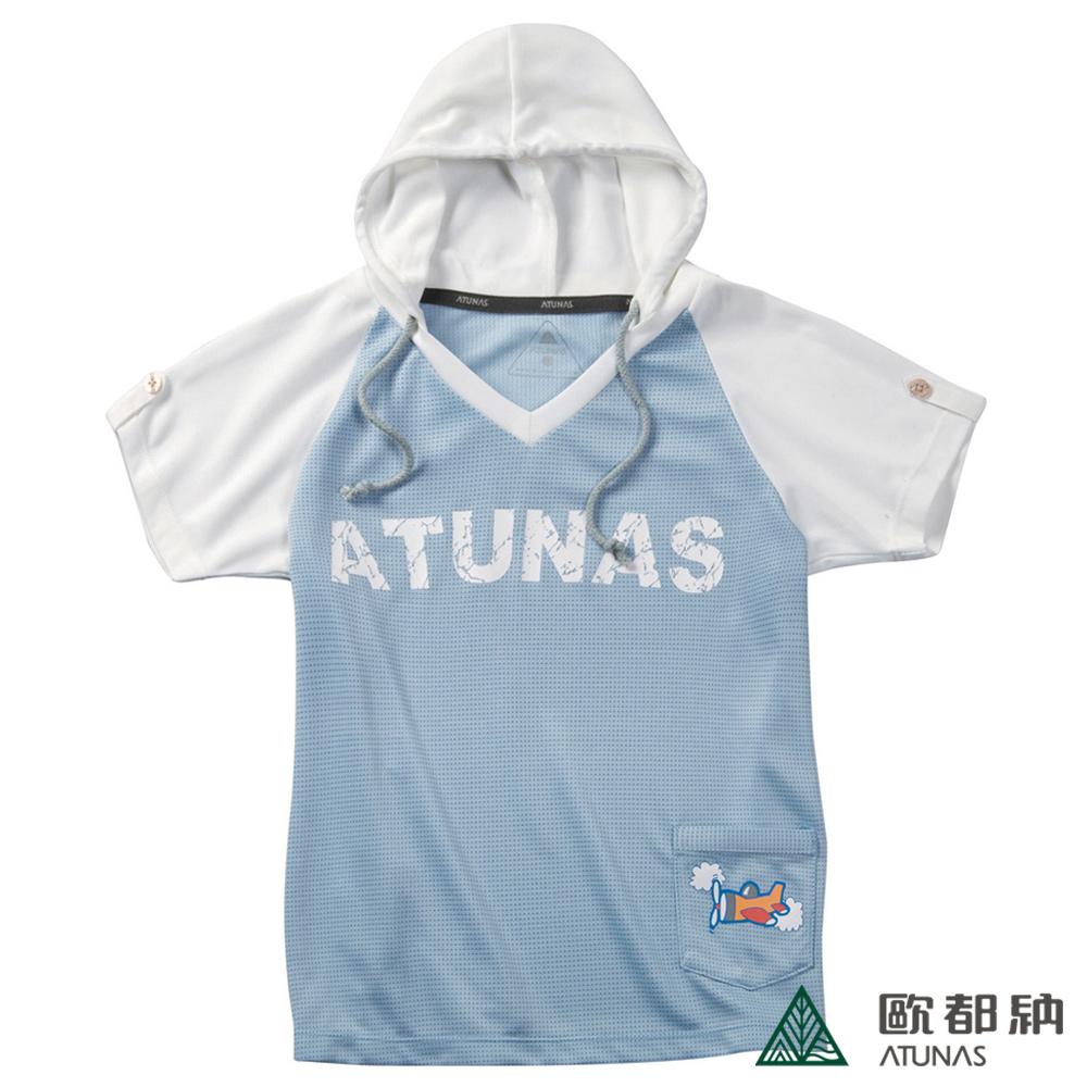 【歐都納】A-T1115  Atunas Tex童款親子短袖T恤