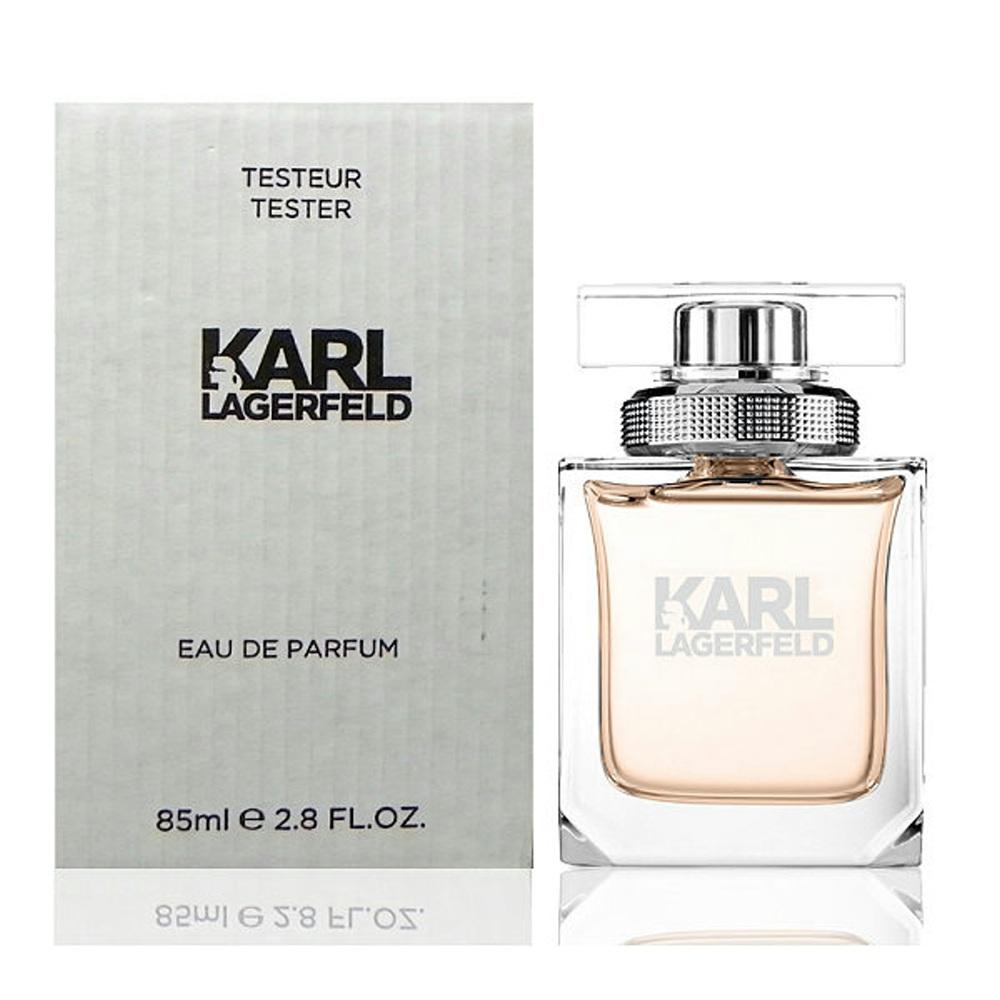 Karl Lagerfeld 卡爾同名時尚女性淡香精 85ml Tester 包裝