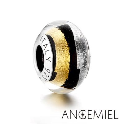 Angemiel安婕米 義大利純銀 琉璃串珠 鉑金