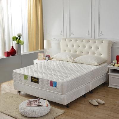 MG珍寶-3M防潑水抗菌高澎度-護邊蜂巢獨立筒床墊-雙人5尺
