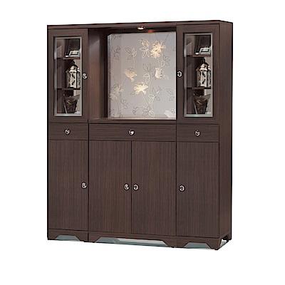 品家居  瑪斯5.3尺鞋櫃/玄關櫃(二色)-160.3x41.5x191cm免組
