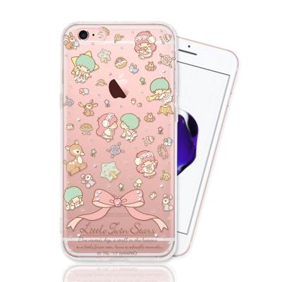 KIKILALA 雙子星 iPhone 6/6s 彩繪空壓手機鑽殼-森林物語