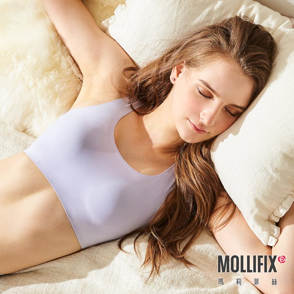 Mollifix 瑪莉菲絲 睡睡塑 循環美胸衣 (淡紫)