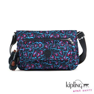 Kipling-斜背包-火鳳凰熱情印花