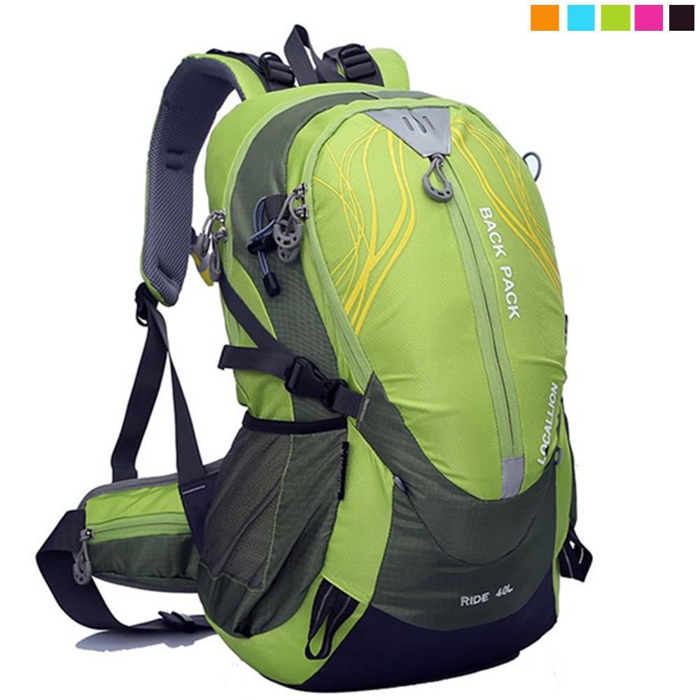 PUSH! 戶外休閒登山用品40L登山包背包騎行包可放安全帽 product image 1