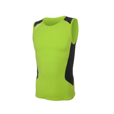 AROPEC Compression II 男款運動機能壓力衣 背心 萊姆綠/黑