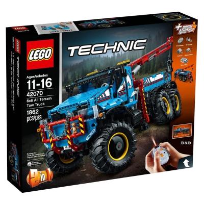 樂高LEGO 科技系列 - LT42070 6x6 越野車