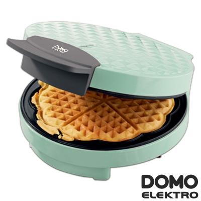 比利時DOMO-菱格紋鬆餅機(DM9007WT)-愛心造型