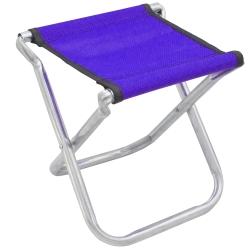 高24cm鋼骨鍍鋅管折疊椅休閒椅馬扎折疊凳超值2入(顏色隨機)