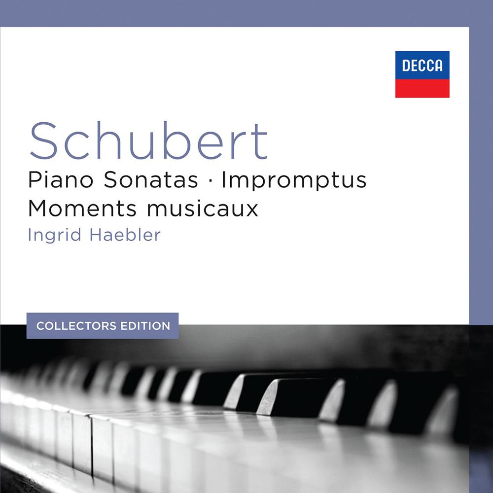 舒伯特/鋼琴奏鳴曲&即興曲集(7CD)