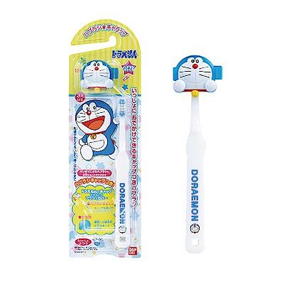 日本Bandai-哆啦A夢牙刷1入(附造型牙刷蓋)