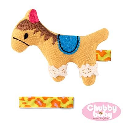 Chubby Baby巧比貝比 兒童寶寶髮夾Pony(B)