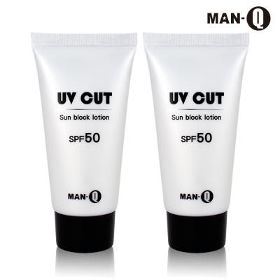 MAN-Q 極效舒活防曬水乳液(SPF50) 80gX2