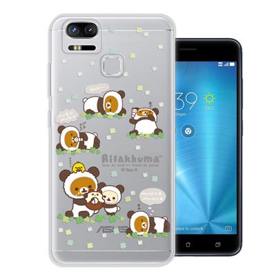 日本授權拉拉熊 華碩 ZenFone3 Zoom ZE553KL 變裝彩繪手機殼...