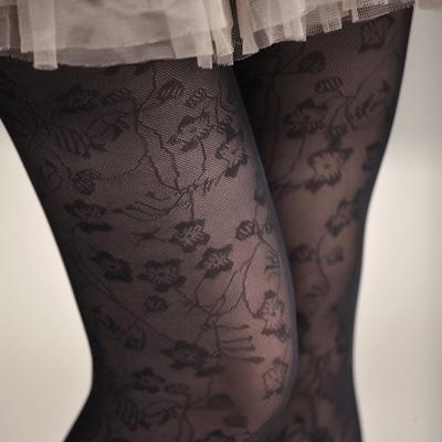 蒂巴蕾LOVE彈性絲襪 塗鴉