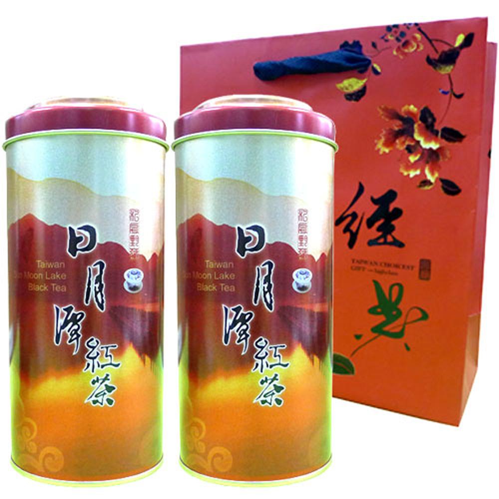 新造茗茶 日月潭手採紅玉紅茶-台茶18號(100g*2罐)