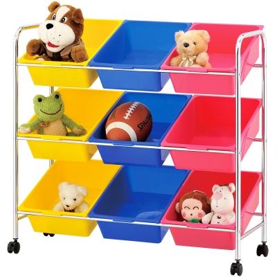 IKLOO宜酷屋 可移式9格玩具收納組