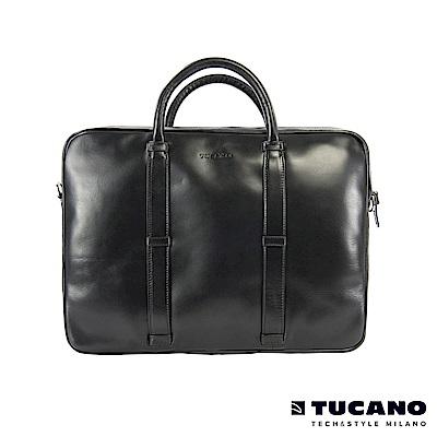 TUCANO-Elle-時尚雅痞義大利牛皮手提包
