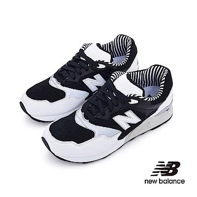 New Balance 復古鞋ML878NPA-D中性黑白色