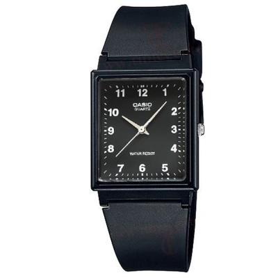 CASIO 方形超輕薄感數字錶(MQ-27-1B)-黑面