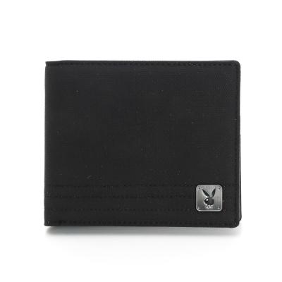 PLAYBOY-K-Kit系列卡窗短夾-黑色