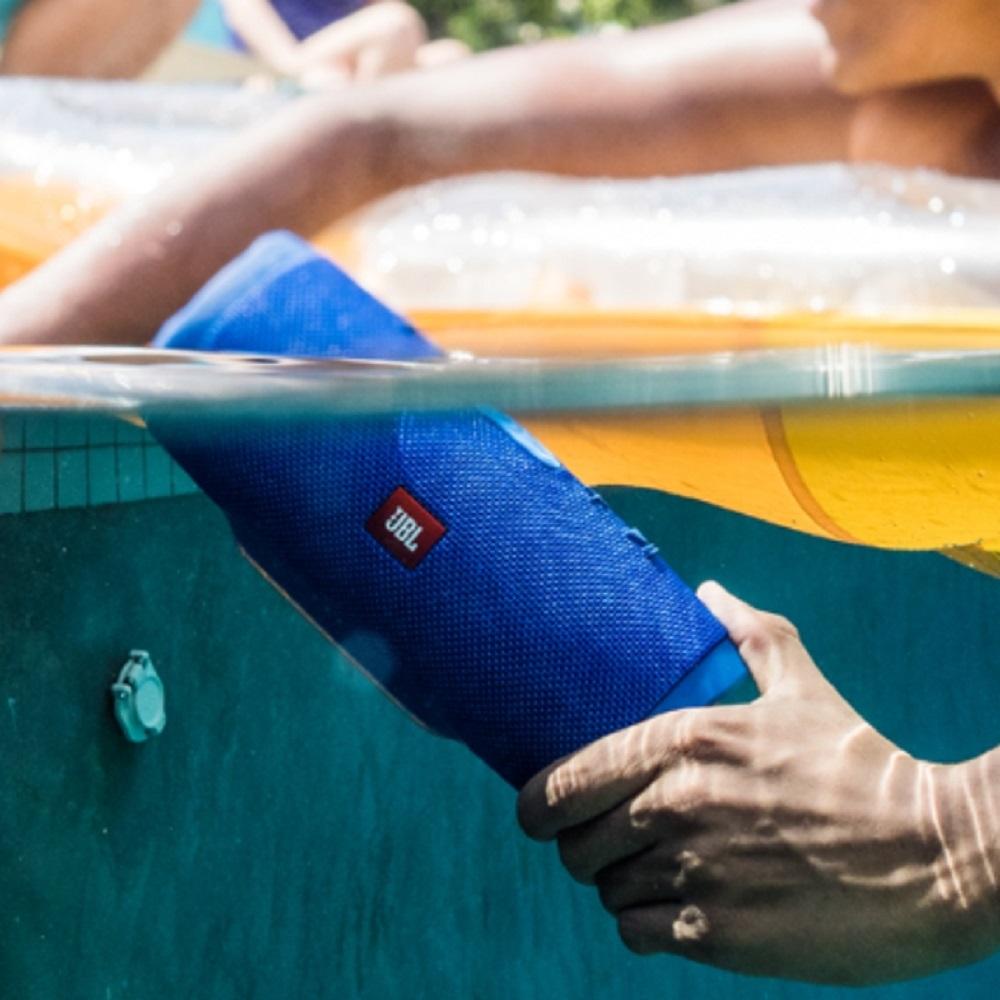 JBL Charge3 防水攜帶式立體聲喇叭 公司貨 - 藍色款