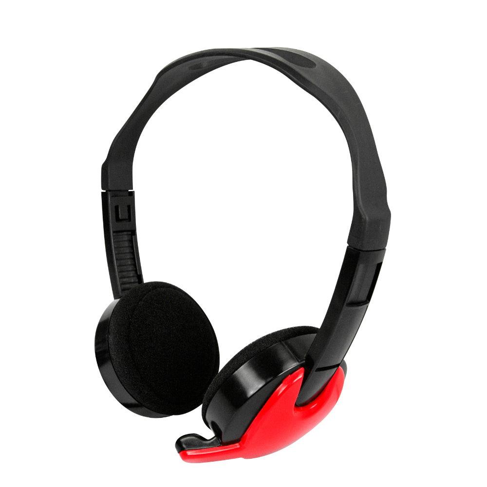 KINYO 頭戴式耳機麥克風EM3652