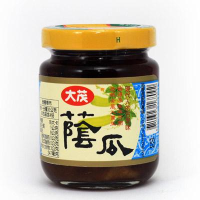 大茂 蔭瓜玻璃瓶(170gx6瓶)