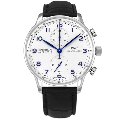 IWC 萬國錶 Portuguese IW 371446 大葡萄牙系列白面計時腕錶- 40 . 9 mm