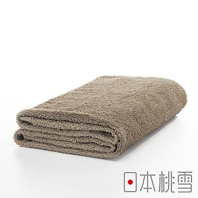 日本桃雪今治飯店浴巾(茶褐)