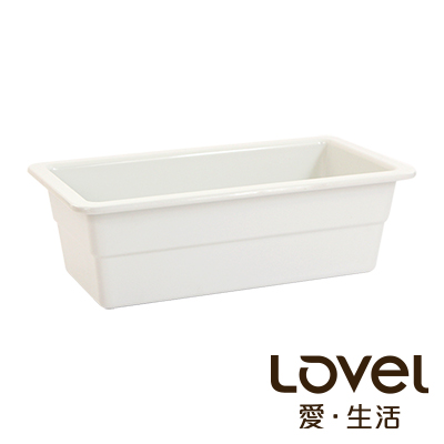 LOVEL 象牙瓷白buffet餐盤(GN1/3 100mm)