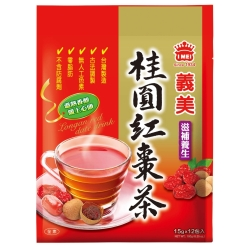 義美 桂圓紅棗茶(15gx12包)