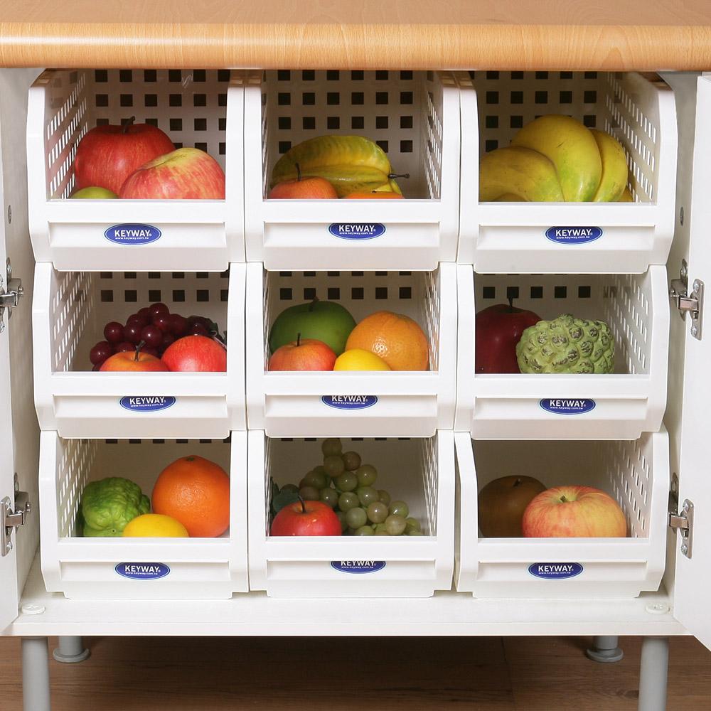 創意達人箱根深型櫥櫃收納置物架(9入)