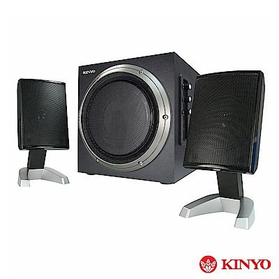 KINYO  2 . 1 聲道多媒體喇叭(KY- 1705 )