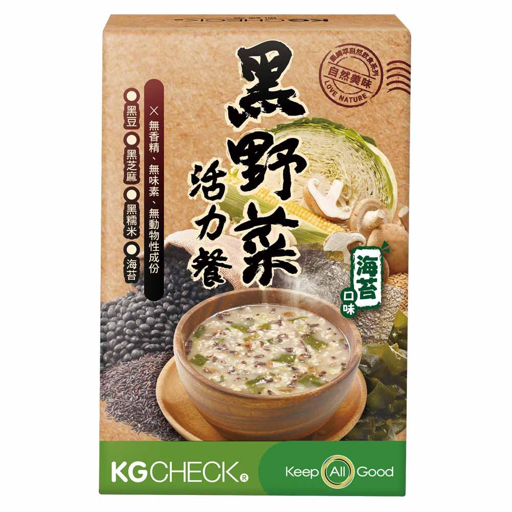 聯華生醫 KGCHECK  黑野菜活力餐 海苔口味  2入組(6包 x 2盒)