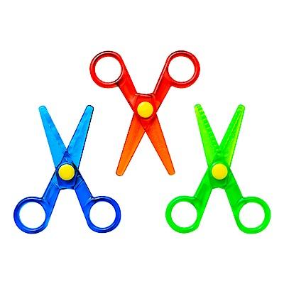 美國 Crayola繪兒樂 幼兒安全造型剪刀3件組(36M+)
