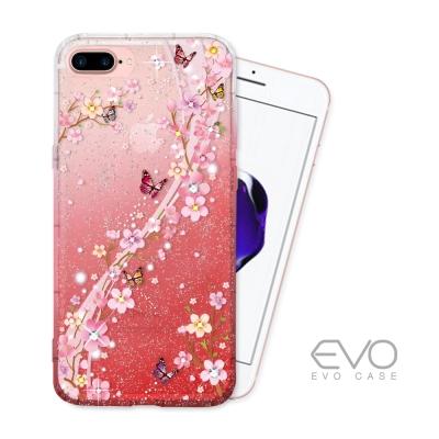 EVO CASE iPhone 7 plus 星鑽系列奧地利水晶手機殼 - 蝶語