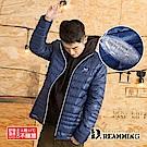 Dreamming 歐美時尚保暖立領輕量感羽絨外套-共二色